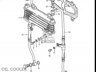 Suzuki Gs700e 1985 f Usa e03 Oil Cooler