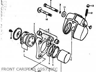 Suzuki gs750b 1977 b usa e03 parts list partsmanual partsfiche