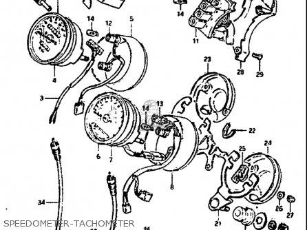 Suzuki Gs G Usa Speedometer Tachometer Mediumsuusa Fa on 1979 Suzuki Gs850 Wiring