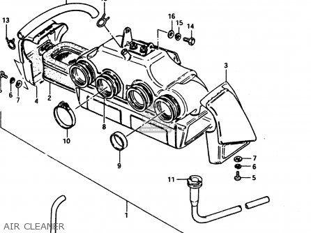 suzuki gs850g 1983  d  general export  e01  parts lists