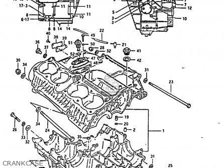 Suzuki GS850G 1986 (G) (E01 E02 E04 E06 E22 E24 E25) parts ...