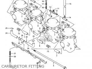 2003 suzuki bandit 1200 carburetor problems