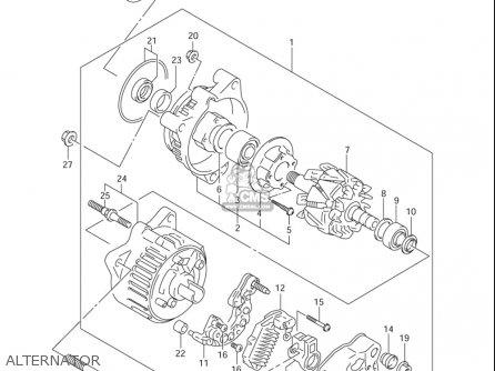 Wiring Diagram 2001 Gsf 600s