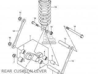 suzuki gsf1250s bandit 2007 k7 usa e03 parts lists and schematics Bandit Hole Shot rear cushion lever