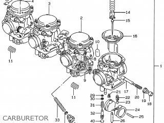 Suzuki Gsf S Bandit T Usa E Carburetor Medium Img Fbb
