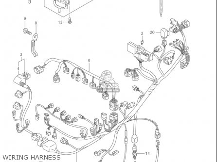 2004 Gsxr 1000 Wiring Diagram - Wiring Diagrams 101  Gsxr Wiring Diagram on