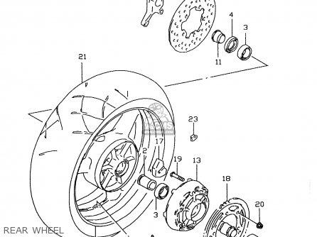 Suzuki Gsx R 600 1997 Wiring Diagram