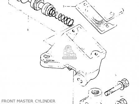 Suzuki Gsx1000s 1982 z General Export e01 Front Master Cylinder