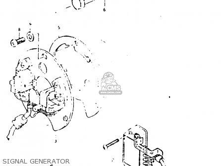 Suzuki Gsx1000s 1982 z General Export e01 Signal Generator