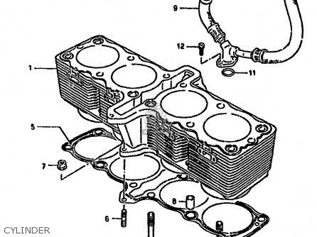 Suzuki Gsx1100f 1994 R E02 E04 E15 E17 E18 E21 E22 E25 E34 E53