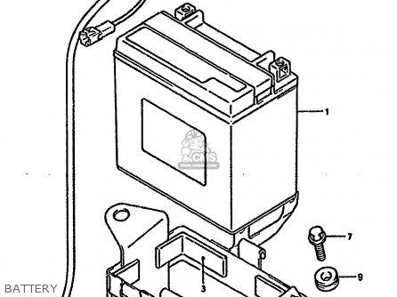 Suzuki Gsx1100g 1994     r      e02 E04 E18 E22 E24 E25  parts