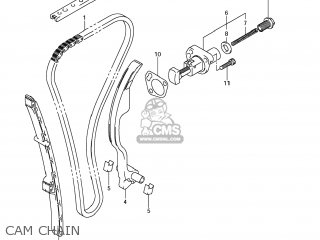 Suzuki Gsx1250fa 2011 l1 Usa e03 Cam Chain