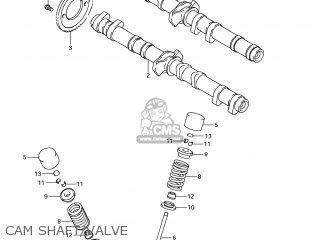 Suzuki Gsx1250fa 2011 l1 Usa e03 Cam Shaft valve