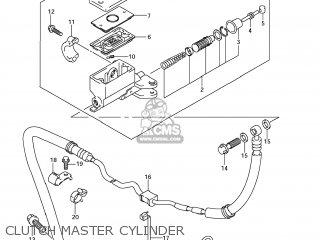 Suzuki Gsx1250fa 2011 l1 Usa e03 Clutch Master Cylinder