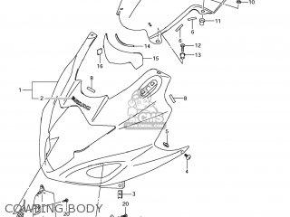 Suzuki Gsx1250fa 2011 l1 Usa e03 Cowling Body