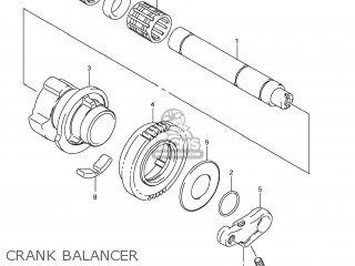 Suzuki Gsx1250fa 2011 l1 Usa e03 Crank Balancer