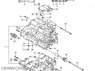Suzuki Gsx1250fa 2011 l1 Usa e03 Crankcase