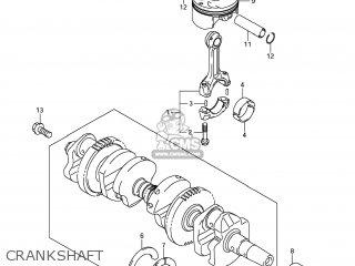Suzuki Gsx1250fa 2011 l1 Usa e03 Crankshaft