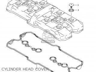 Suzuki Gsx1250fa 2011 l1 Usa e03 Cylinder Head Cover
