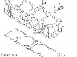 Suzuki Gsx1250fa 2011 l1 Usa e03 Cylinder