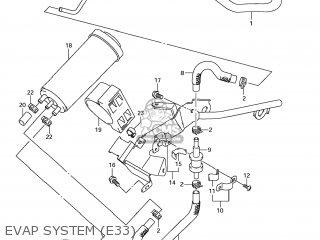 Suzuki Gsx1250fa 2011 l1 Usa e03 Evap System e33