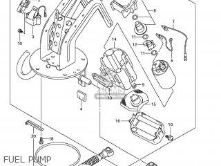 Suzuki Gsx1250fa 2011 l1 Usa e03 Fuel Pump