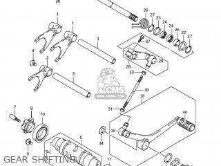 Suzuki Gsx1250fa 2011 l1 Usa e03 Gear Shifting