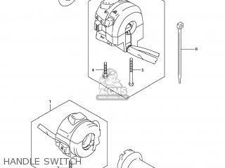 Suzuki Gsx1250fa 2011 l1 Usa e03 Handle Switch