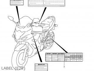 Suzuki Gsx1250fa 2011 l1 Usa e03 Label e28