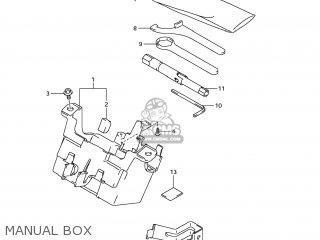 Suzuki Gsx1250fa 2011 l1 Usa e03 Manual Box