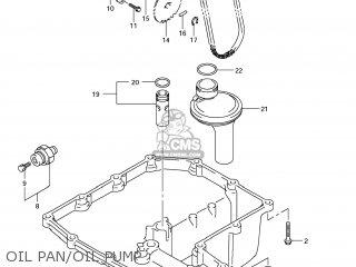Suzuki Gsx1250fa 2011 l1 Usa e03 Oil Pan oil Pump