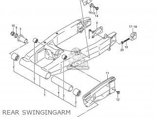 Suzuki Gsx1250fa 2011 l1 Usa e03 Rear Swingingarm