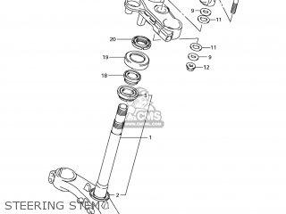 Suzuki Gsx1250fa 2011 l1 Usa e03 Steering Stem