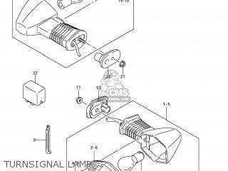 Suzuki Gsx1250fa 2011 l1 Usa e03 Turnsignal Lamp