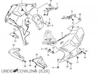 Suzuki Gsx1250fa 2011 l1 Usa e03 Under Cowling e28