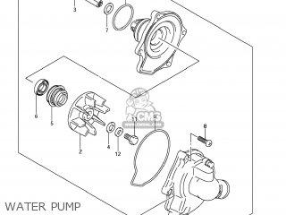 Suzuki Gsx1250fa 2011 l1 Usa e03 Water Pump