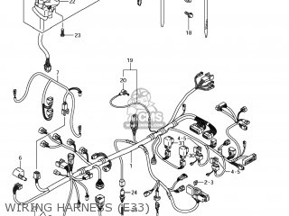 Suzuki Gsx1250fa 2011 l1 Usa e03 Wiring Harness e33