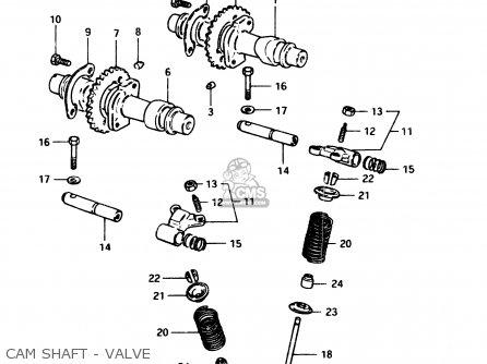 suzuki gsx250e 1982 (z) general export (e01) parts lists and schematicssuzuki gsx250e 1982 (z) general export (e01) cam shaft valve