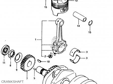 suzuki gsx250e 1982 (z) general export (e01) parts lists and schematics