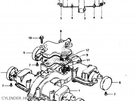 Suzuki Gsx450l 1983 d General Export e01 Cylinder Head Cover