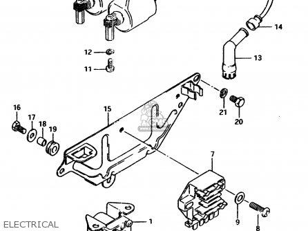 Suzuki Gsx450l 1983 d General Export e01 Electrical