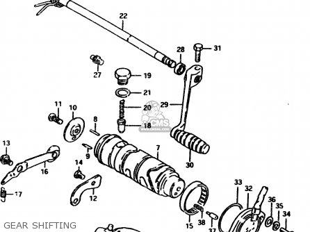 Suzuki Gsx450l 1983 d General Export e01 Gear Shifting