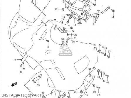 2007 Suzuki Eiger Engine Diagram
