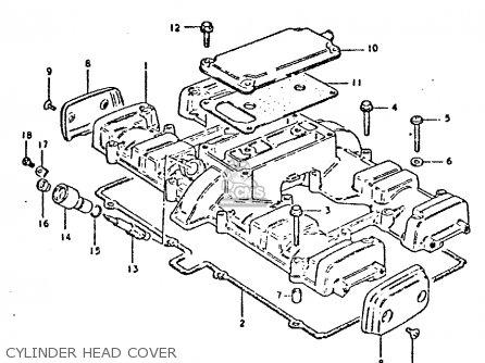 Suzuki Gsx750e 1981 X 1 2 4 6 15 16 17 18 21 22 24 25 26 27 30 34
