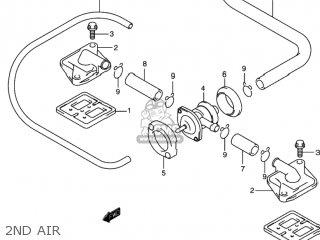 Suzuki GSXR1000 2001 (K1) USA (E03) parts lists and schematics on