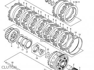 Suzuki GSXR1000 2005  K5  USA  E03     parts    lists and schematics