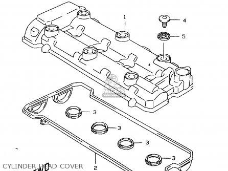 Suzuki GSXR600 1999 X CYLINDER HEAD COVER