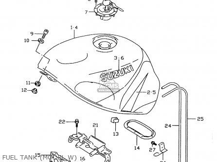 Suzuki Gsxr600 1999 X Parts Lists And Schematics