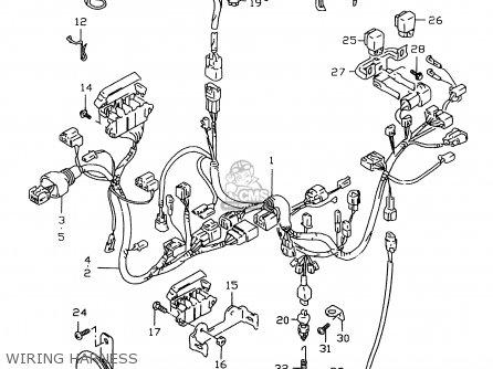 suzuki gsxr600 2000 y parts lists and schematics. Black Bedroom Furniture Sets. Home Design Ideas