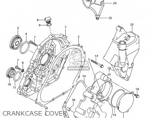 Suzuki GSXR600 2006 (K6) USA (E03) parts lists and schematics on
